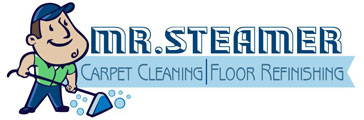 Mr Steamer Carpet Cleaning Logo